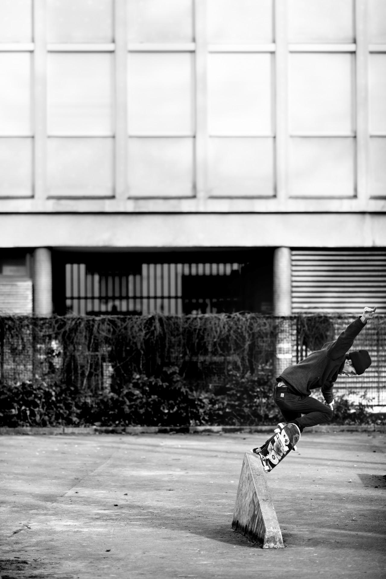 Biemer skateboarding